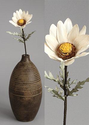 dekorace - celulozové květiny | A70400_BE1