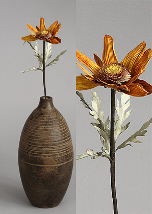 dekorace - celulozové květiny | A70400_HN1