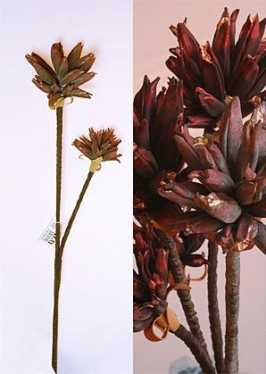 dekorace - umělé květiny - 2 stvoly | A71870