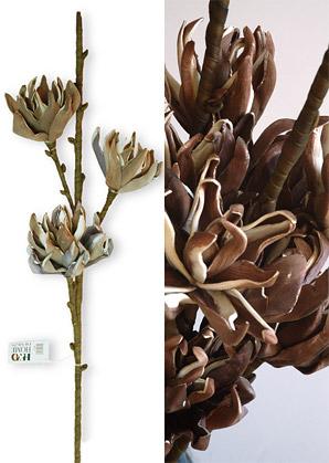 dekorace - umělé květiny - 3 stvoly | A72000