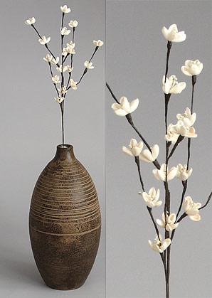 dekorace - celulozové květiny | A75580_BE1