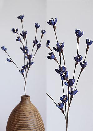 dekorace - celulozové květiny | A75580_NA3