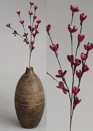 dekorace - celulozové květiny | A75580_RU3