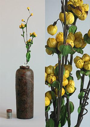 dekorace-celulozové květiny | A75610