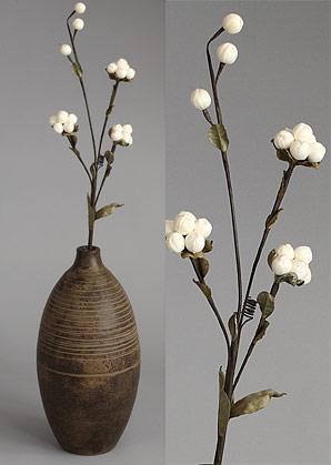 dekorace - celulozové květiny | A75610_BE1