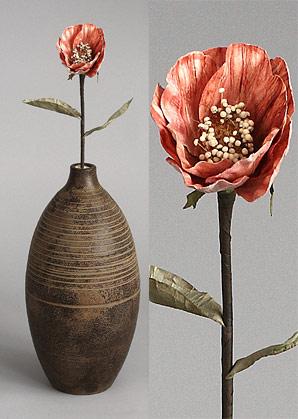 dekorace - celulozové květiny | A75650_BE3