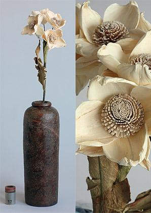 dekorace-celulozové květiny - II.volba ! | A75690