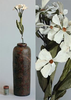 dekorace-celulozové květiny | A75730