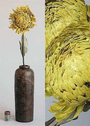 dekorace-celulozové květiny | A75740