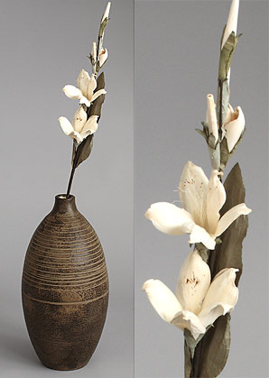 dekorace - celulozové květiny | A75750_BE1