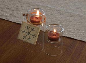 Vánoční aranž - svícny | ADA0004