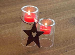 Vánoční aranž - svícny | ADA0006