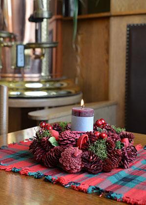 Vánoční aranž - věnec | ADA0014