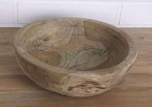 mísa - kořenové dřevo - teak | ADD0050_HN2