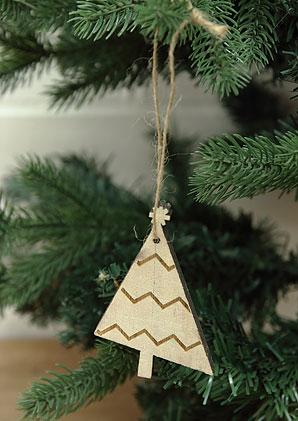 dekorace - stromeček závěs | ADZ0540_BE1