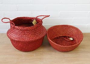 košík - taška - mořská tráva - 1 ks | AKD0230_CV2