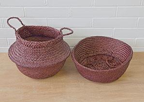 košík - taška - mořská tráva - 1 ks | AKD0230_HN3