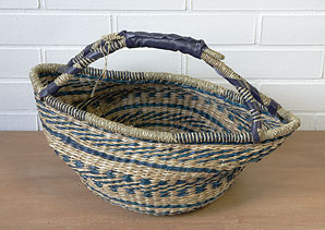 košík - taška - mořská tráva | AKD0273_VMO