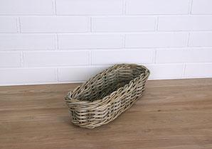 košík - ratan -kubu | AKK0150_BE2