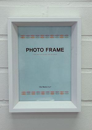 foto rámeček - dřevo, sklo | AOR0050_BI1