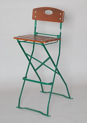 židle barová skládací - jasan   AZN01p_VHN
