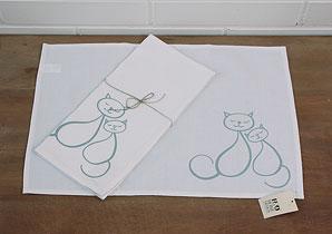 prostírání - 1 ks - kočičky | B00111_VBE