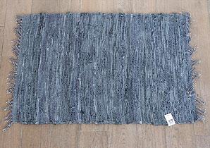 předložka s třásněmi - textilní materiál, kůže   B13200_VAN