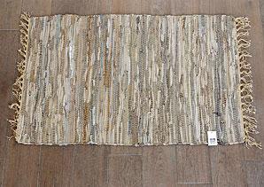 předložka s třásněmi - textilní materiál, kůže   B13200_VBE