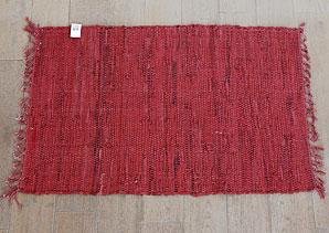 předložka s třásněmi - textilní materiál, kůže   B13200_VCV