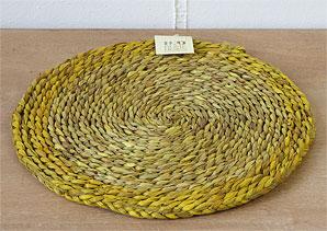 podložka kulatá - mořská  tráva   B17350_ZL2