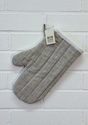 kuchyňská rukavice - 100% len | B40060_NBE