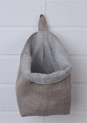 sáček závěsný - vnější materiál 100% len | B75050_BE4