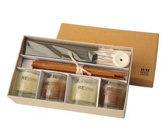 svíčky - dárkové balení | A03160