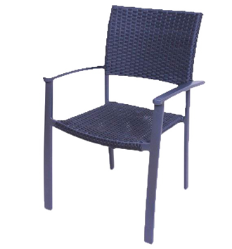 židle - syntetický ratan, kov - hliník   A10370_AN3