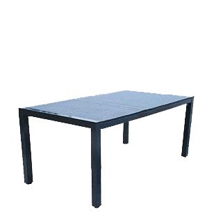 stůl - 2 kamenné desky, kov - hliník   A20290