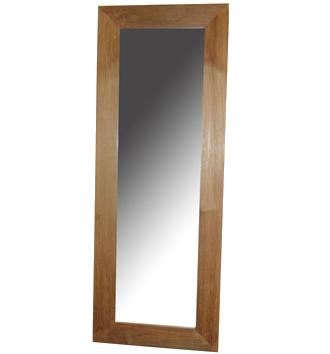 zrcadlo - rám masiv - teak | A30070