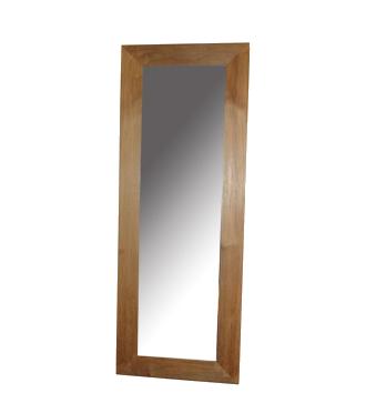 zrcadlo - rám masiv - teak | A30071